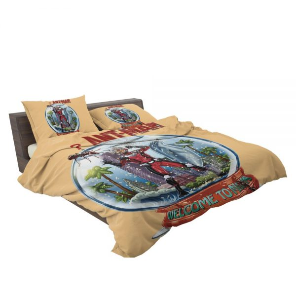 Marvel Comics Ant-Man In Snow Globe bedding Sets