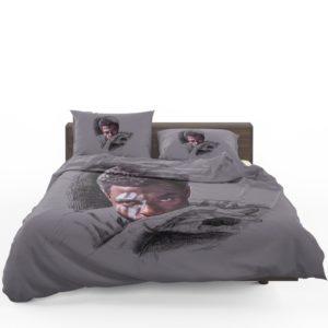 T'Challa Black Panther Minimal Artwork Print Bedding Set