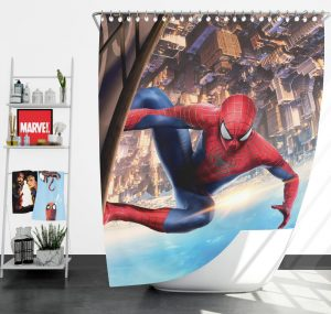 Amazing Fantasy Marvel Avengers Shower Curtain