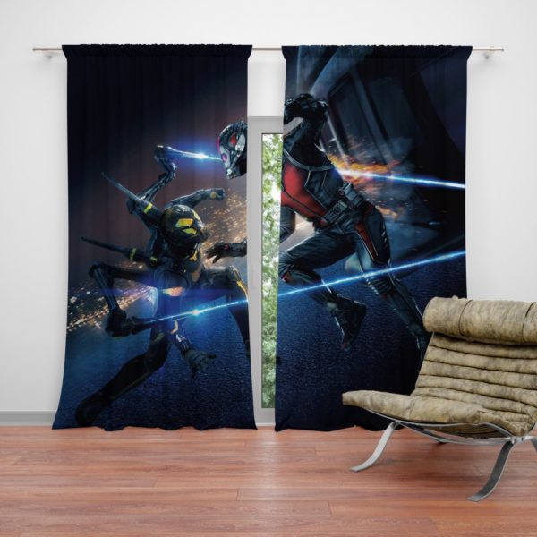 Ant-Man Ant-Man Yellowjacket Fighting Scene Curtain