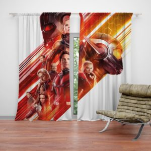 Ant-Man and the Wasp Marvel Movie Characters Curtain