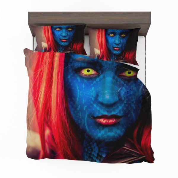 Artistic Woman Marvel Mystique Cosplay Bedding Set 2