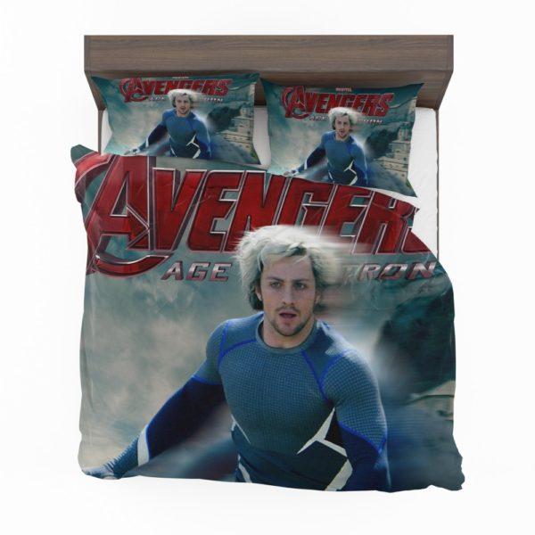 Avengers Age of Ultron Movie Quicksilver Marvel Comics Bedding Set 2