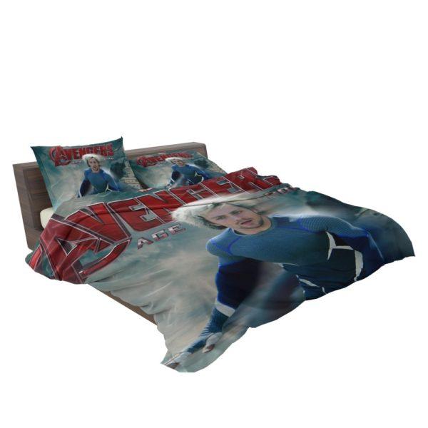 Avengers Age of Ultron Movie Quicksilver Marvel Comics Bedding Set 3