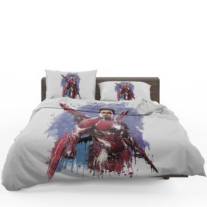 Avengers Infinity War Robert Downey Jr. Iron Man Marvel Comics Bedding Set 1