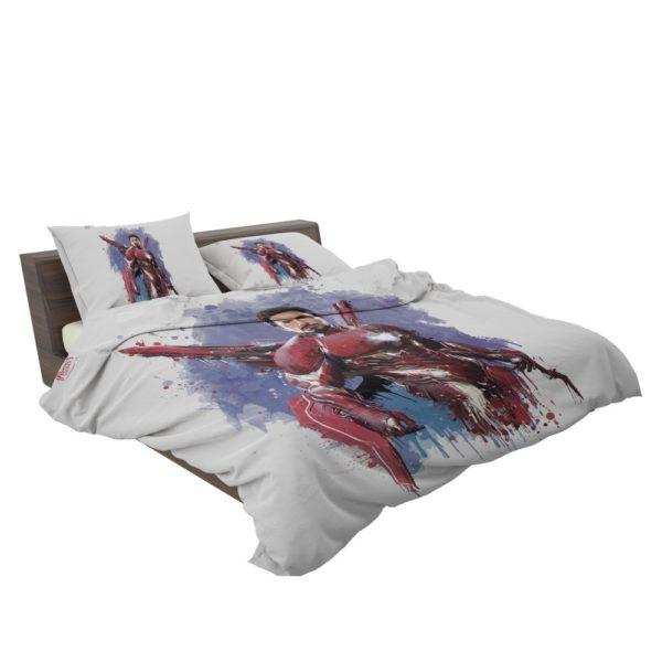 Avengers Infinity War Robert Downey Jr. Iron Man Marvel Comics Bedding Set 3
