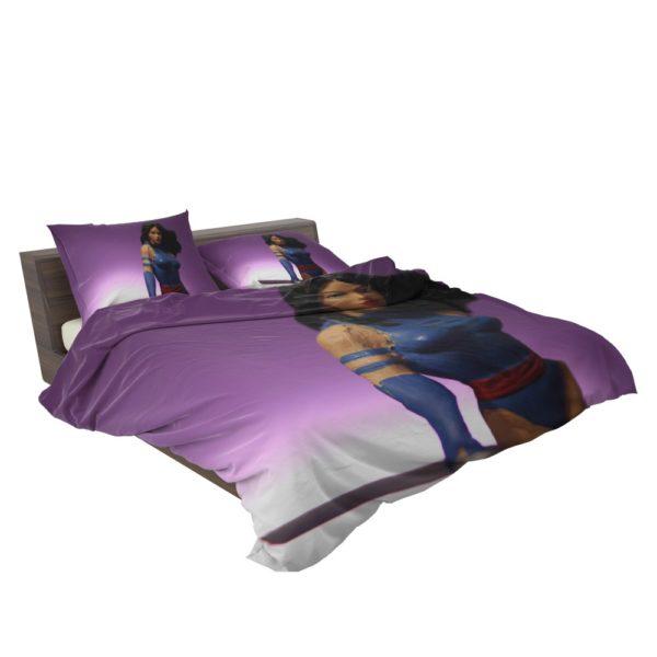 Classic Marvel Figurines Psylocke Bedding Set 3