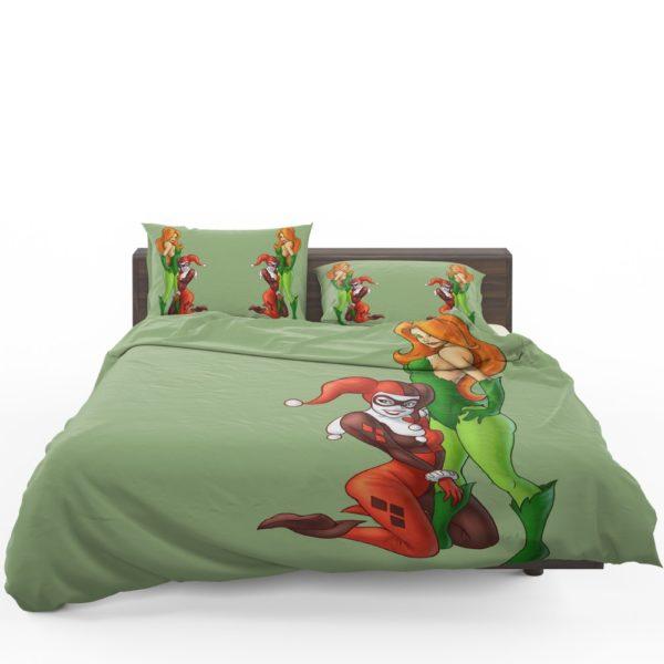 DC Comics Harley Quinn Poison Ivy Comforter Set 1
