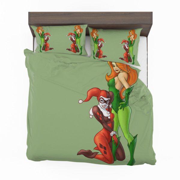 DC Comics Harley Quinn Poison Ivy Comforter Set 2