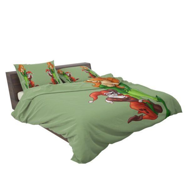 DC Comics Harley Quinn Poison Ivy Comforter Set 3