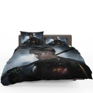 DC Comics Robin Dick Grayson Teen Titans TV Show Bedding Set 1