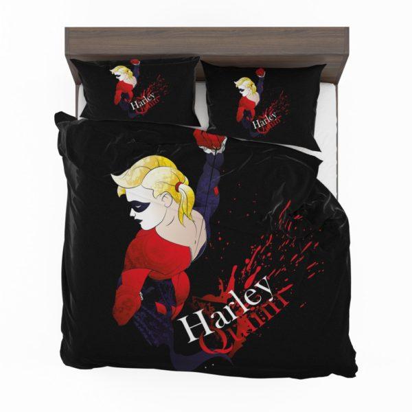 DC Icons Harley Quinn Figure Bedding Set 2