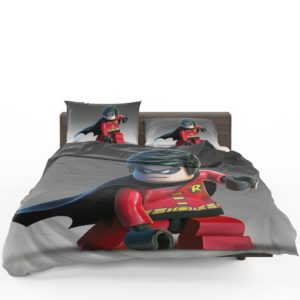 DC SuperHero Robin Lego Video Game Bedding Set 1