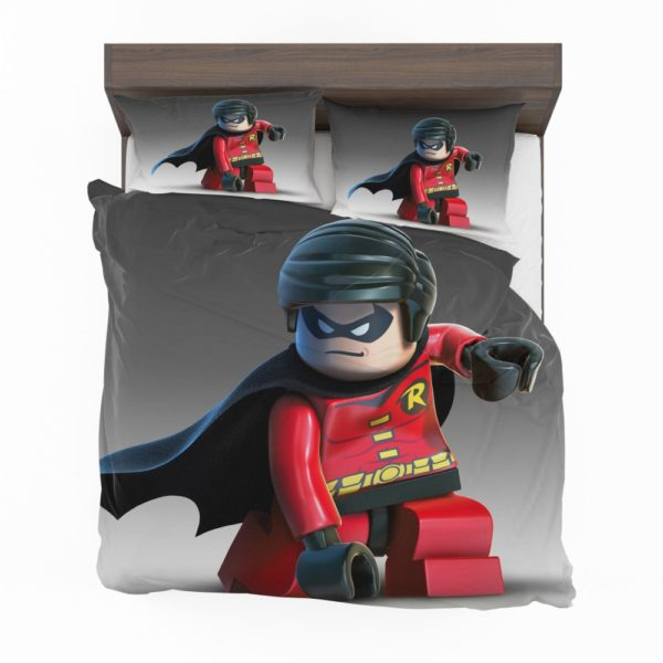 DC SuperHero Robin Lego Video Game Bedding Set 2