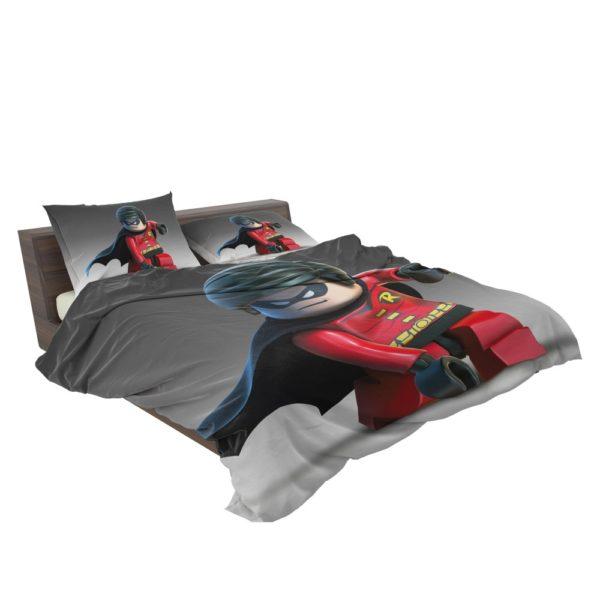 DC SuperHero Robin Lego Video Game Bedding Set 3