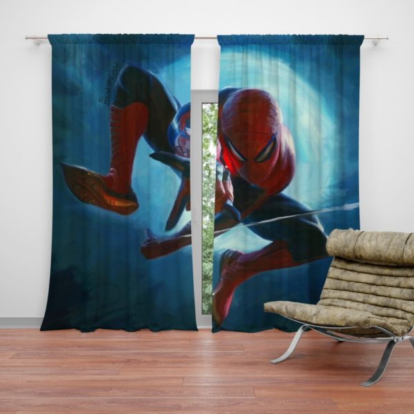 Daily Bugle Spider-Man Marvel Comics Curtain