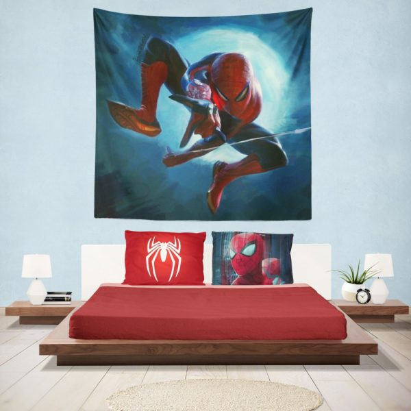 Daily Bugle Spider-Man Marvel Comics Hanging Wall Tapestry