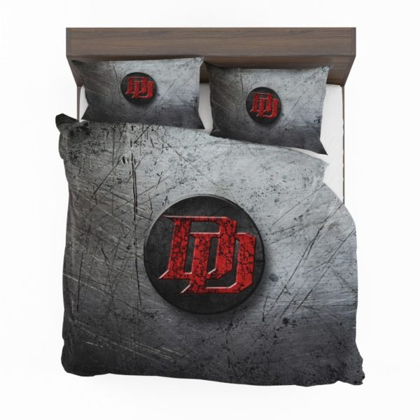 Daredevil TV series Logo Bedding Set
