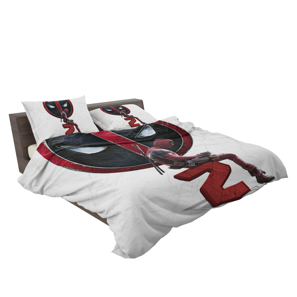 Youth Kids Bedroom Batman Dark Knight Twin Size Platform: Deadpool 2 Movie Deadpool Ryan Reynolds Bedding Set