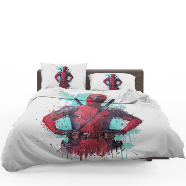 Deadpool Artwork Bedding Set 1