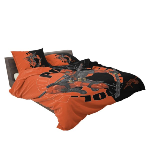 Deadpool Chimichangas Marvel Comics Bedding Set 3