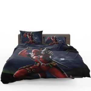 Deadpool Digital Paint Art Bedding Set 1