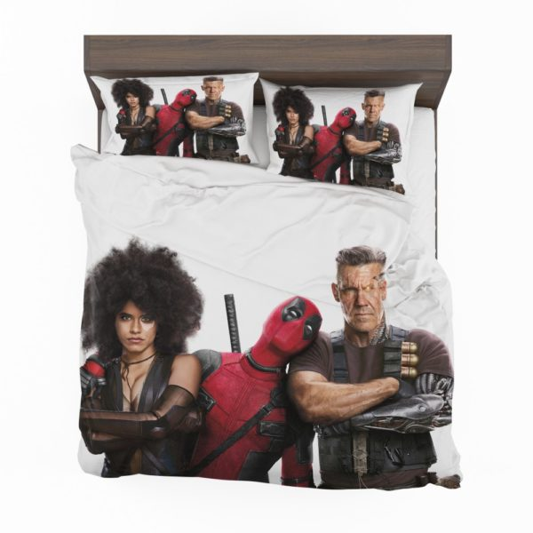 Deadpool Domino and Cable Bedding Set 2