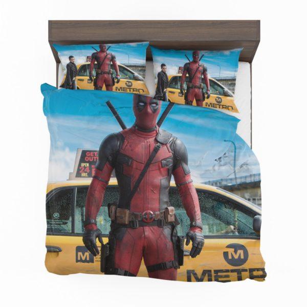 Deadpool Movie Negasonic Teenage Warhead Bedding Set 2