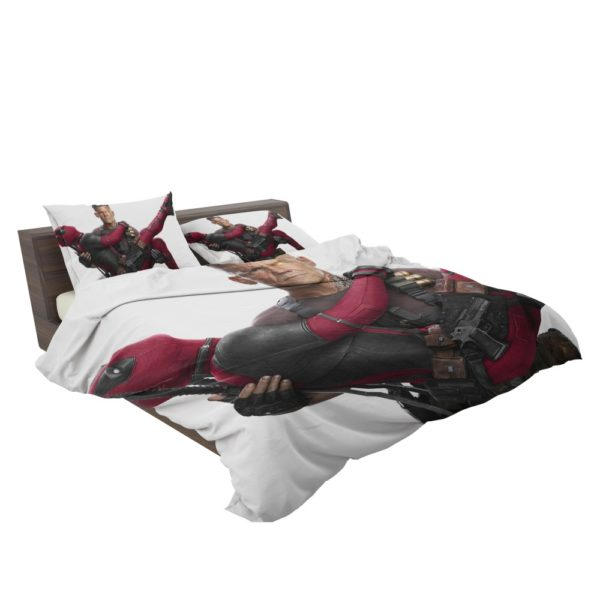 Deadpool and Cable Bedding Set 3