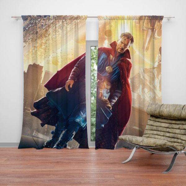 Doctor Strange Marvel Avengers Infinity War Curtain