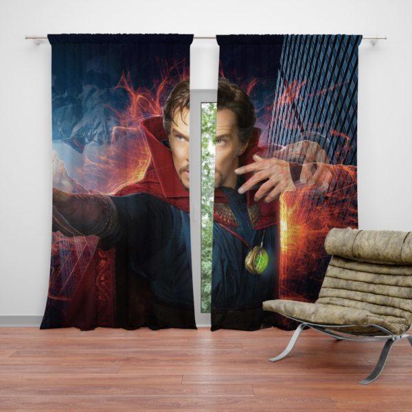 Doctor Strange Movie Benedict Cumberbatch Curtain