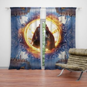 Dr Stephen Strange Marvel Super Hero Curtain