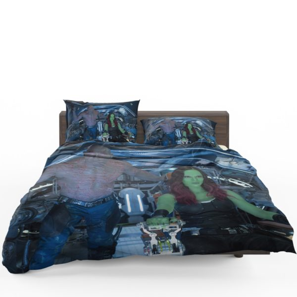 Drax The Destroyer and Gamora Guardians of the Galaxy 2 Bedding Set 1