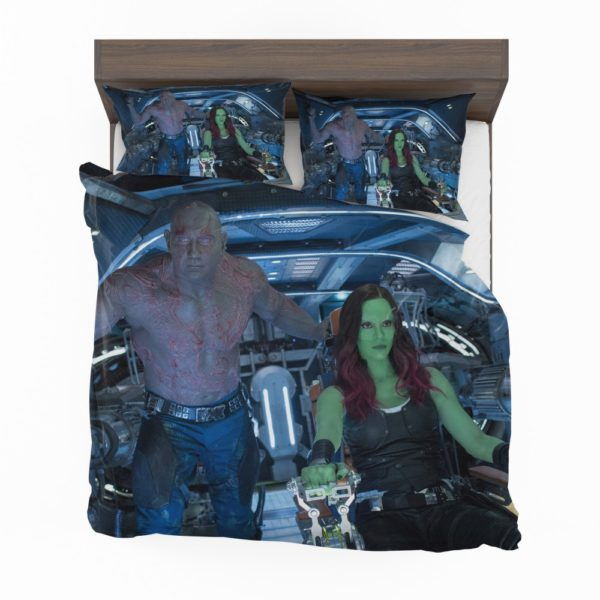 Drax The Destroyer and Gamora Guardians of the Galaxy 2 Bedding Set 2