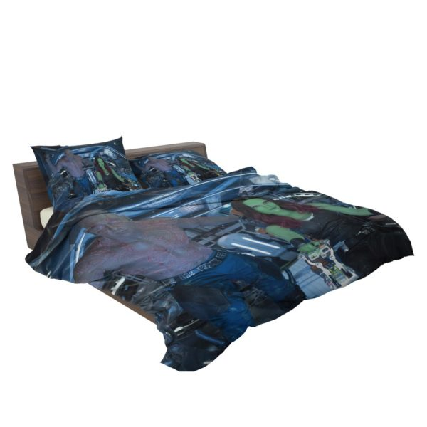 Drax The Destroyer and Gamora Guardians of the Galaxy 2 Bedding Set 3