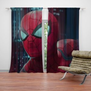 Fantastic Four Spider-Man Marvel Curtain