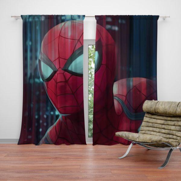 Fantastic Four Spider-Man Marvel Curtain