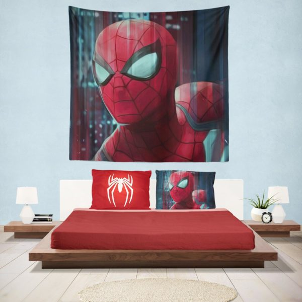 Fantastic Four Spider-Man Marvel Hanging Wall Tapestry