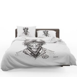 Fantasy Clown Joker Sketch Bedding Set 1