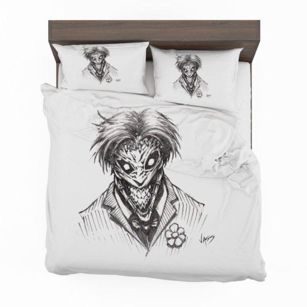 Fantasy Clown Joker Sketch Bedding Set 2