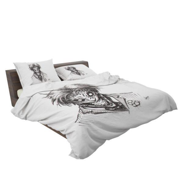 Fantasy Clown Joker Sketch Bedding Set 3