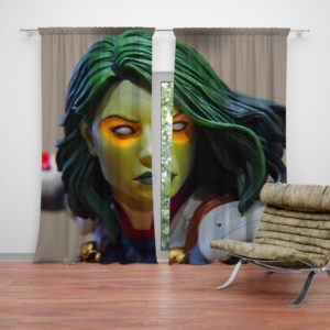 Gamora Marvel Comics Super Heroine Curtain