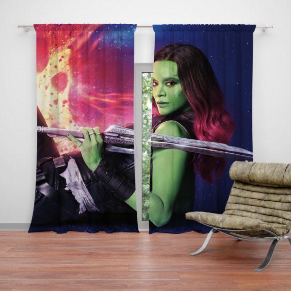 Gamora Marvel Comics The Avenger Curtain