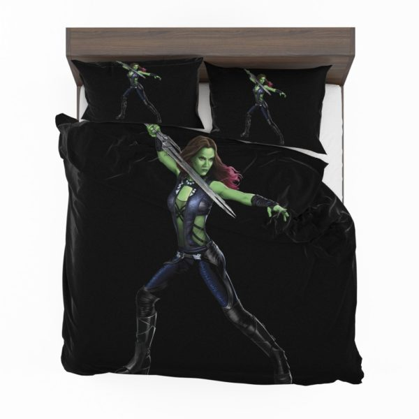 Gamora in Guardians Of The Galaxy Movie Bedding Set 2