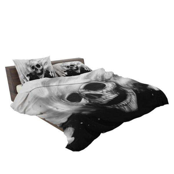 Ghost Rider Comics Creepy Skull Bedding Set 3