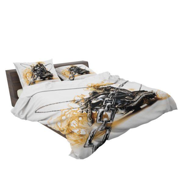 Ghost Rider Johnathon Blaze Bedding Set 3