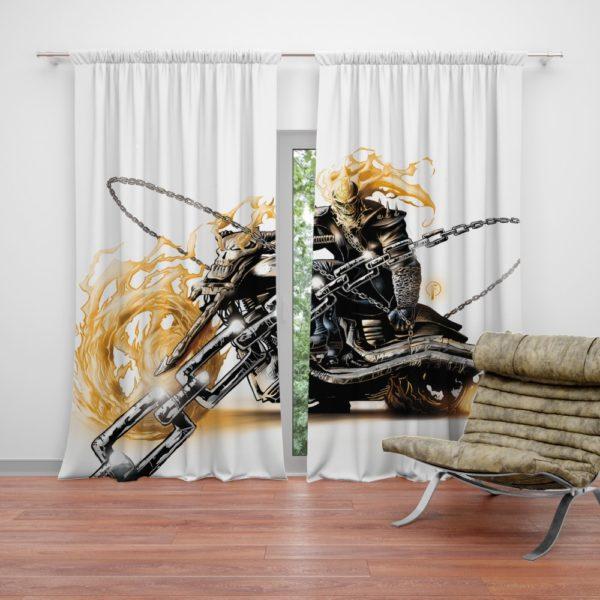 Ghost Rider Johnathon Blaze Curtain