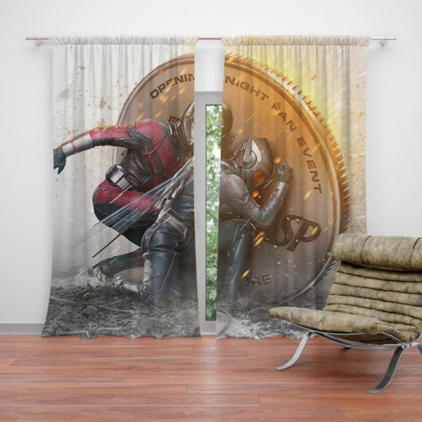 Hope Pym Ant-Man Movie Evangeline Lilly Curtain