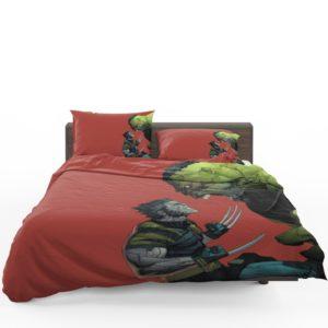 Hulk Vs Wolverine X-Men Comics Bedding Set 1