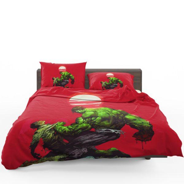 Hulk vs Bruce Banner Marvel Comics Bedding Set 1
